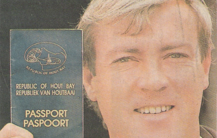 Local man travels the world with Hout Bay passport