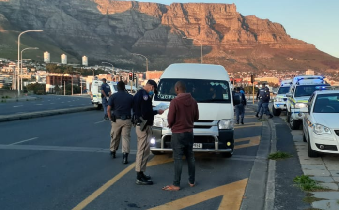 Roadblocks set up along Cape Town's major routes