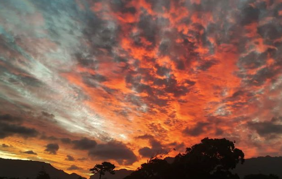 Cape Town sunrise and sunset leave residents in awe