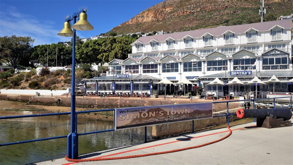 Simon's Town looks like a ghost town under lockdown