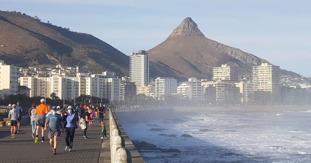 Controversy over Capetonians exercising