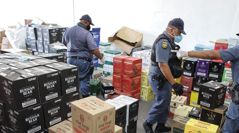 Alcohol stash worth millions confiscated in Parow
