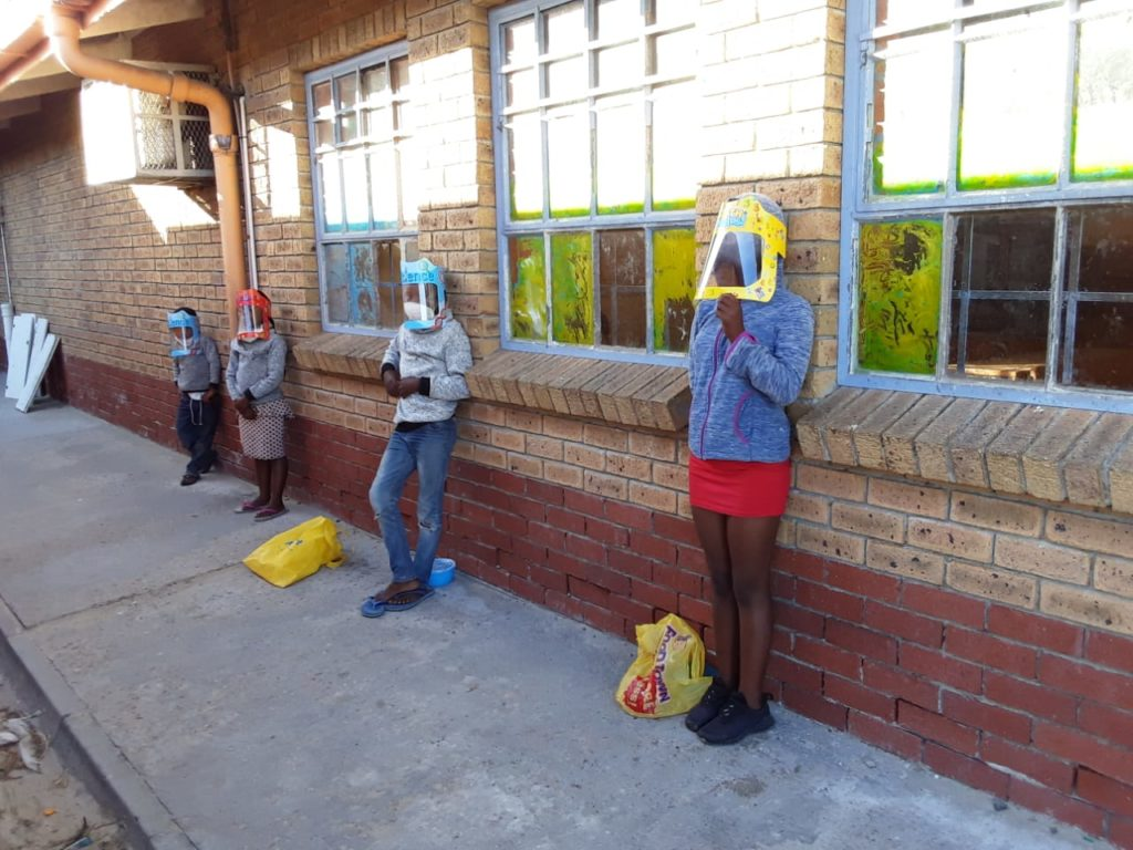 Cape company donates over 9 000 face shields to needy schools