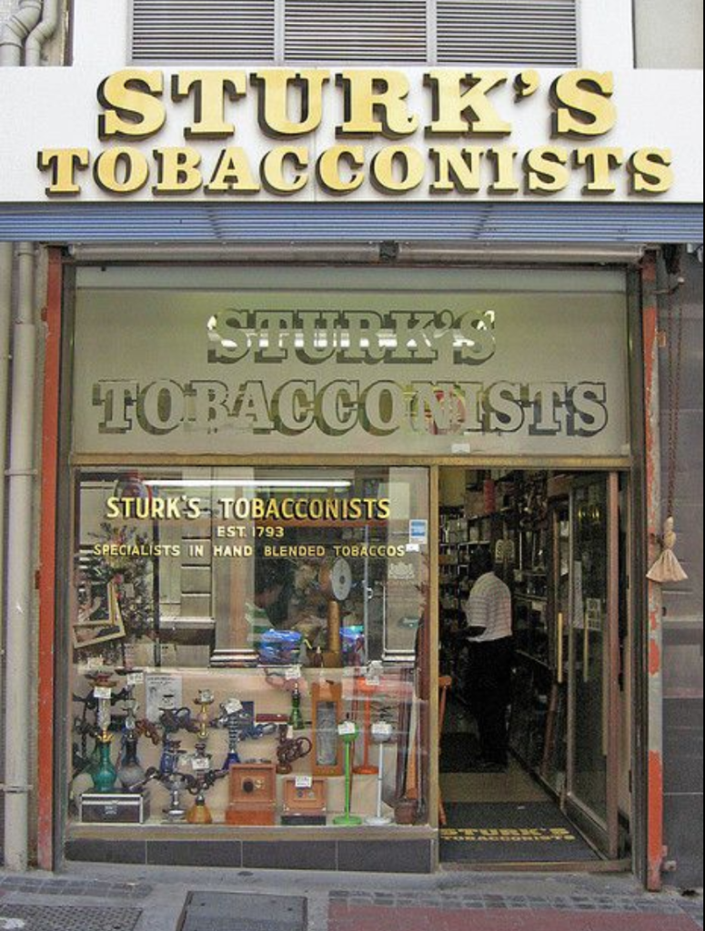 After 226 years, Sturk's Tobacconists closes its doors