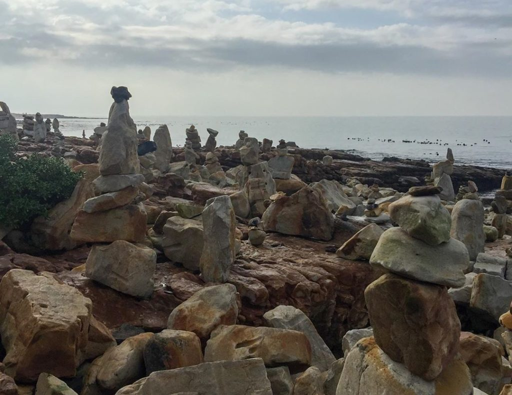 City says Kalk Bay rock sculptures are a health hazard
