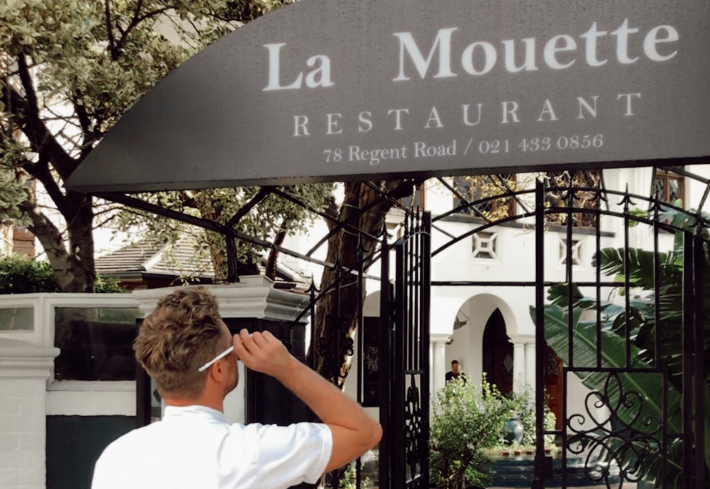 Private Chef Neill Anthony  joins La Mouette