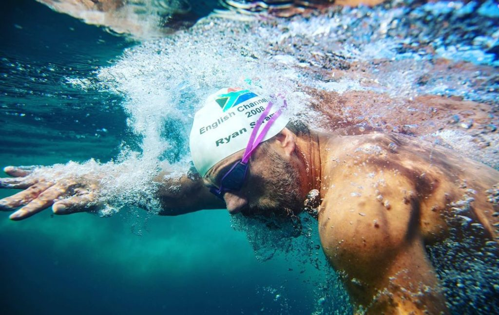 New record set for most Robben Island crossings by SA swimmer