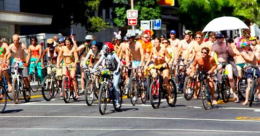 World Naked Bike Ride in Cape Town gears up for 2021 race