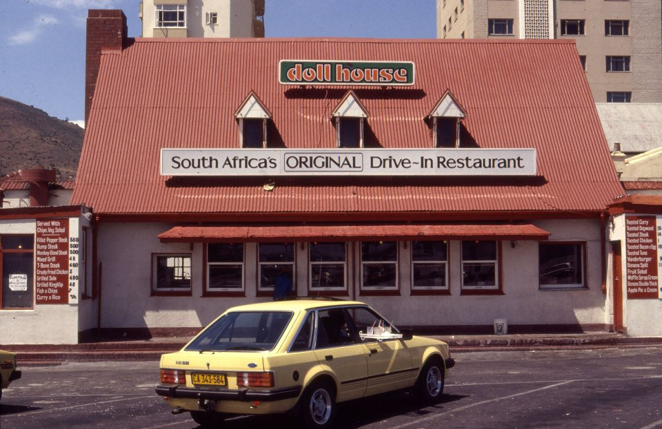 Doll House: South Africa's original drive-in restaurant