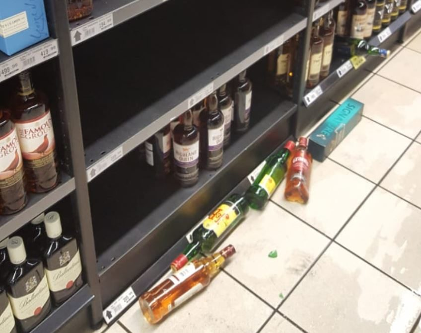 Bothasig liquor store burgled two days after booze ban
