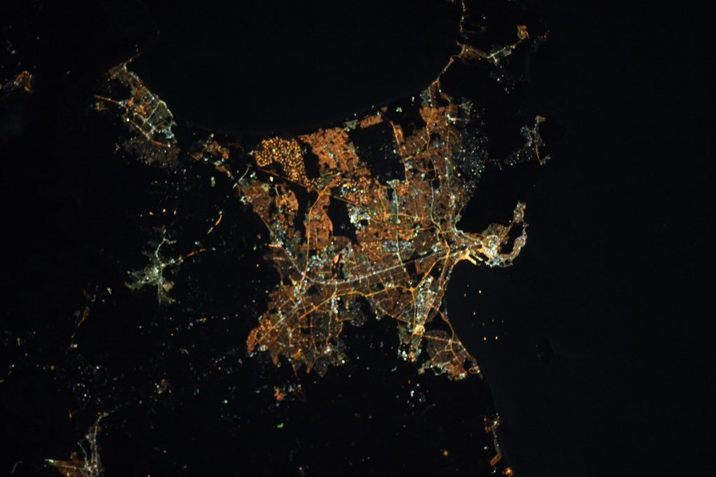 Views from above: Cape Town from the International Space Station
