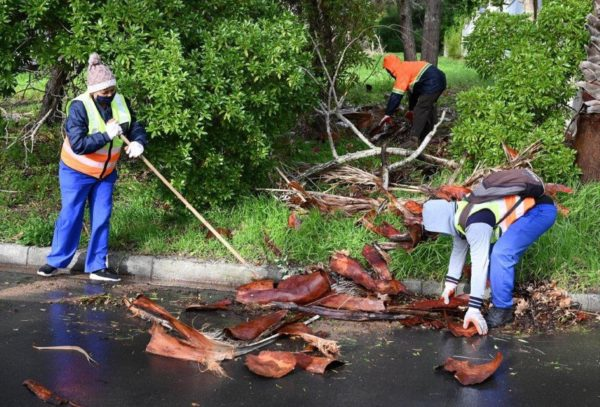 The City is commencing clean-up operations in affected areas (Source: City of Cape Town/Supplied)