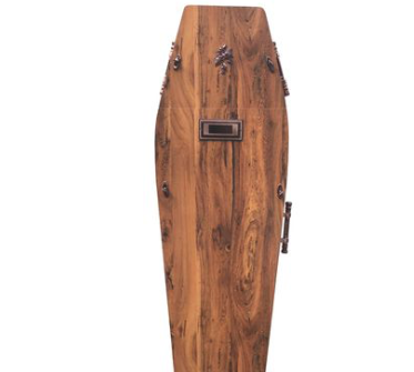 Takealot has a coffin for sale