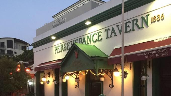 The Perseverance Tavern says goodbye