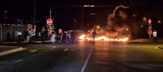 Protest action leads to several road closures