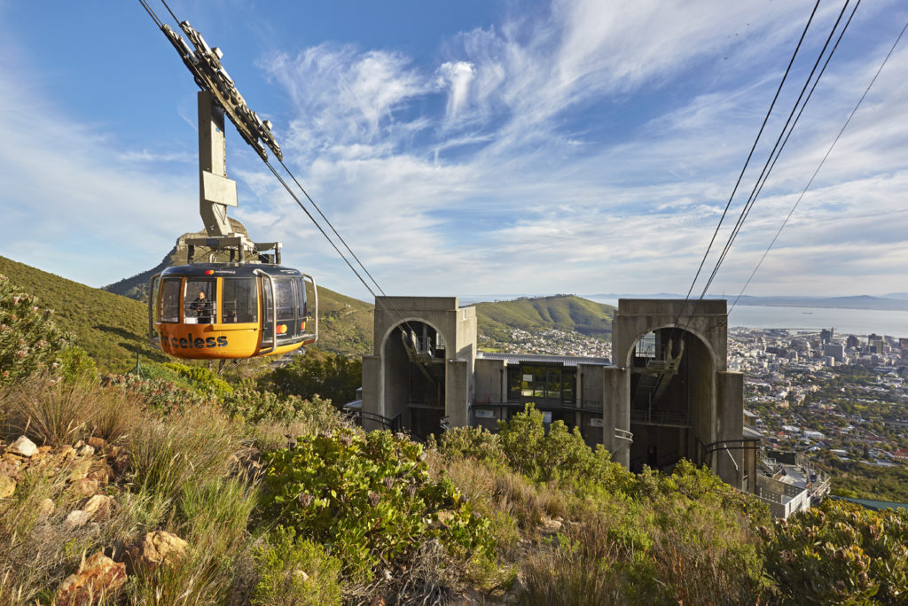 Table Mountain cableway opens for hikers over weekends