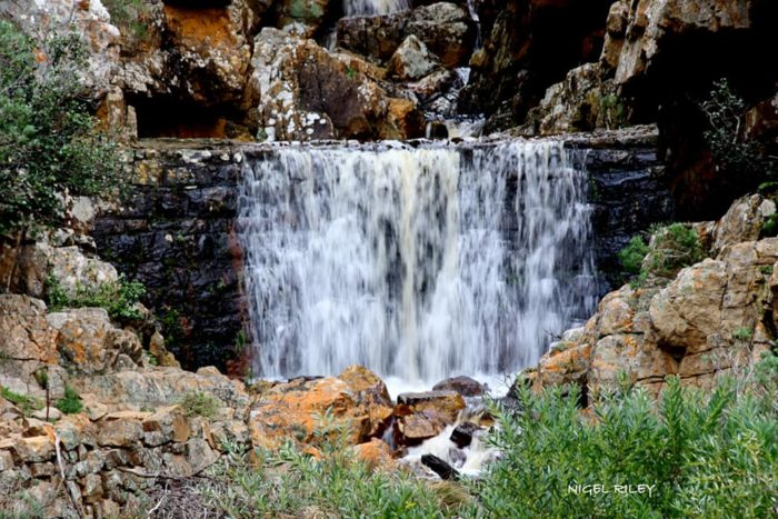 Bountiful waterfalls cascade down the Cape mountains