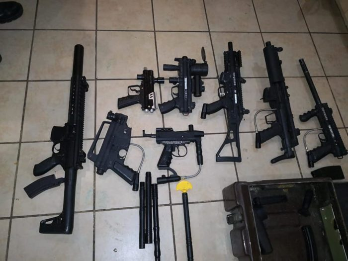 Somerset man arrested for illegal possession of 16 rifles and explosives