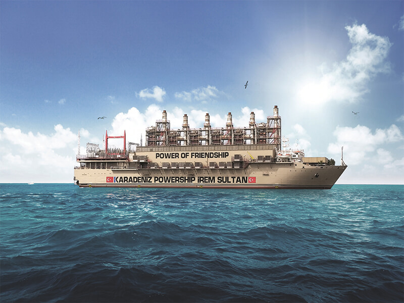 Powerships offer solution to load shedding crisis in South Africa
