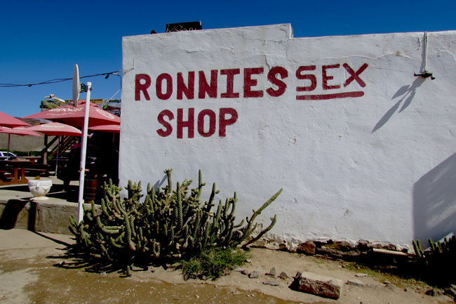 Help save Ronnie's Sex Shop