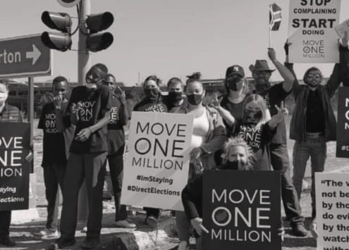 Move ONE Million peaceful protest planned for September