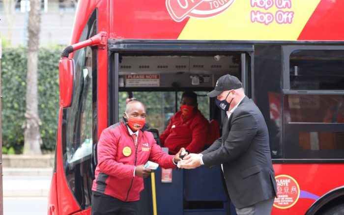 The iconic Red bus is back on Cape Town streets