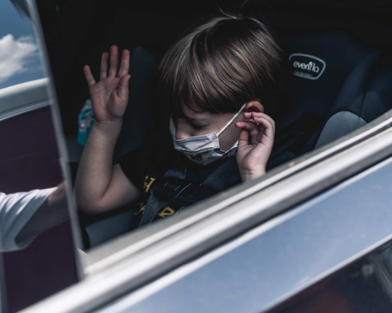 Drivers may be fined when passengers don't wear masks