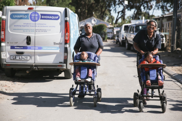 Wheelchair NPO crowdfunds for new vehicle