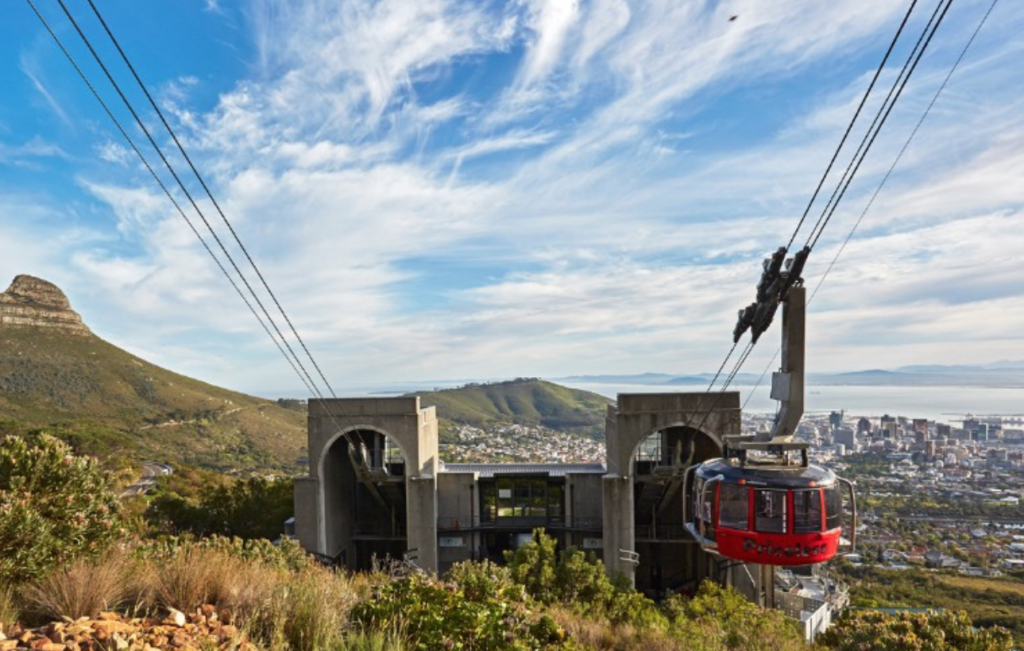 Table Mountain Cableway reopens