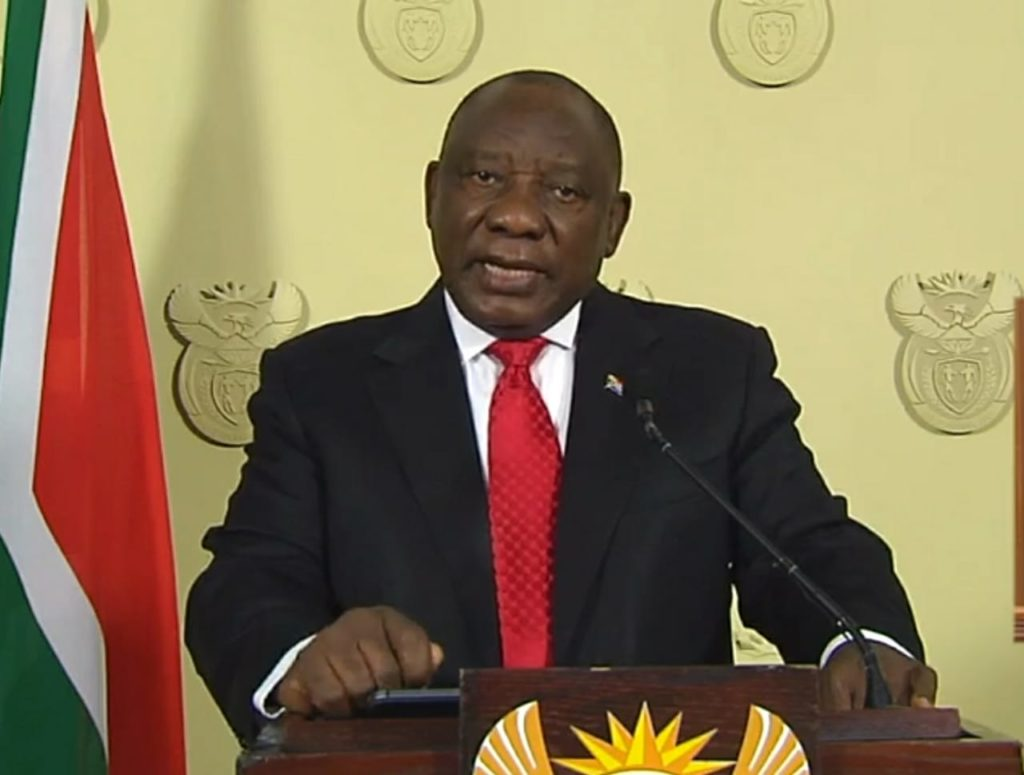 President Ramaphosa lifts ban on tobacco and alcohol, and opens up national travel