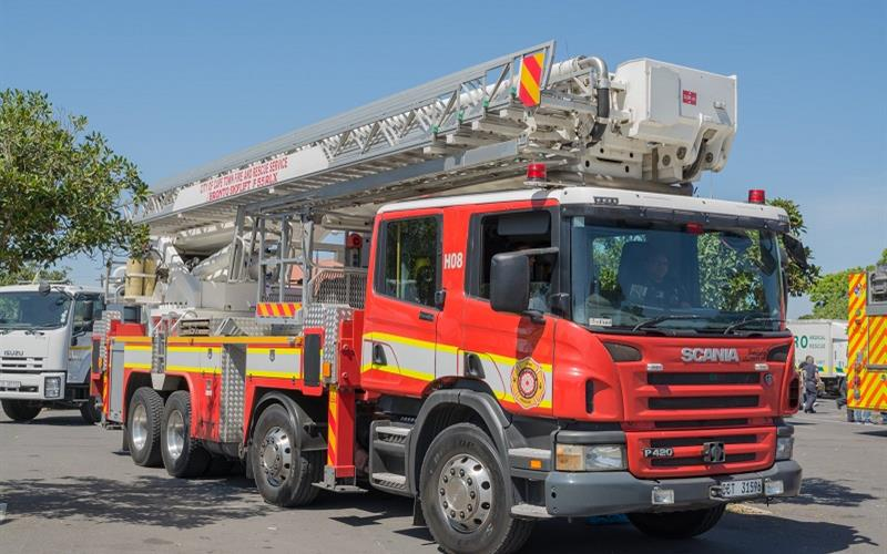 Cape Town experiences 13% drop in fire and rescue incidents