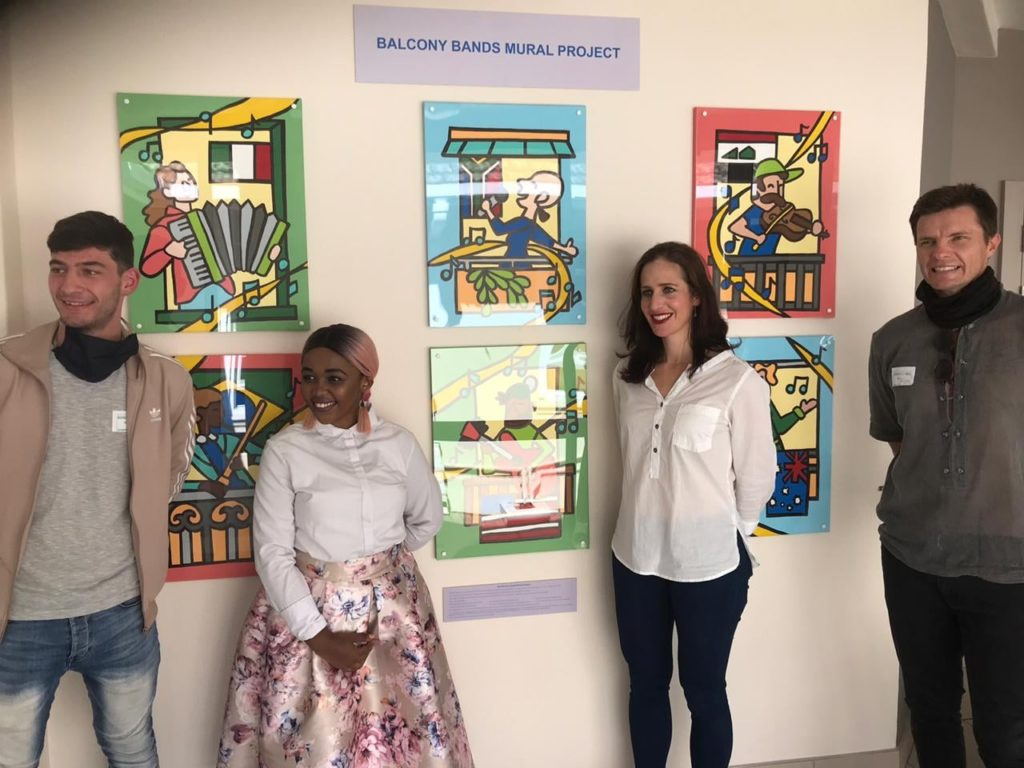 George Hospital unveils murals as part of international project