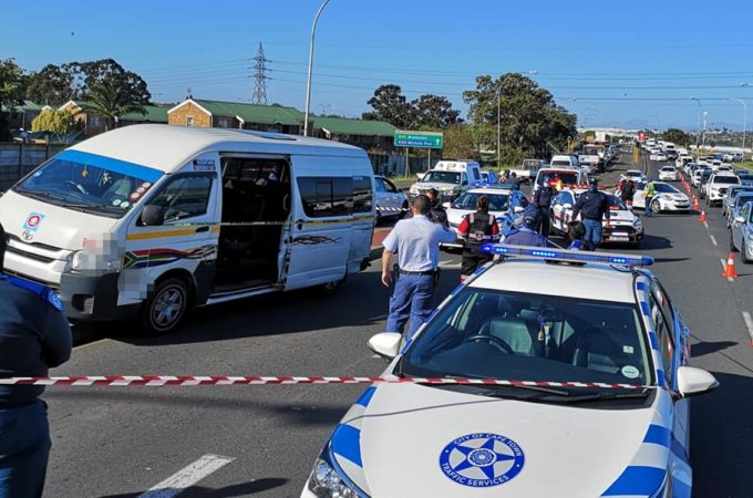 Brackenfell Taxi driver found shot and killed