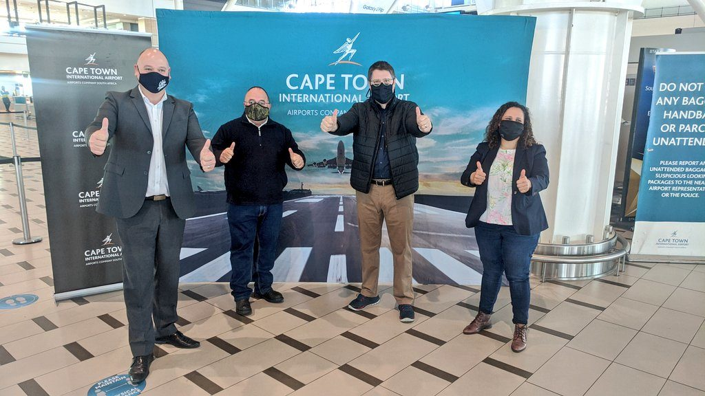 Cape Town International Airport ready for international travel