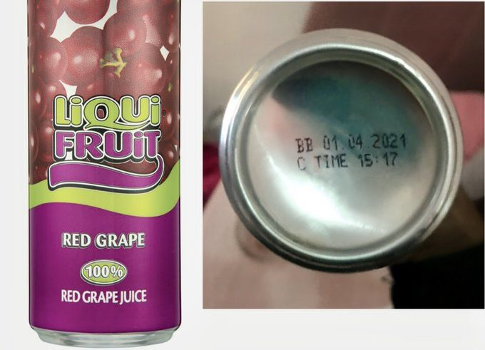 Recalled Liqui Fruit cans confirmed to not contain glass shards