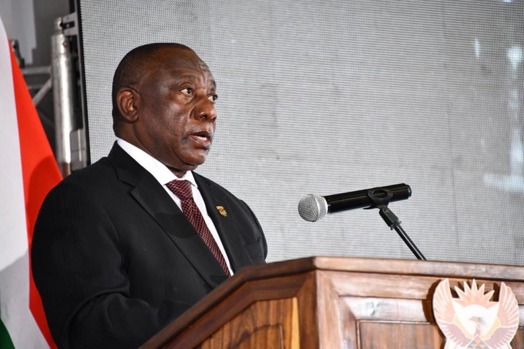 Cyril Ramaphosa on bed rest due to illness