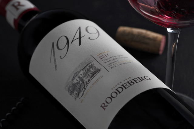 Commemorative Roodeberg 1949 strikes decanter gold in London