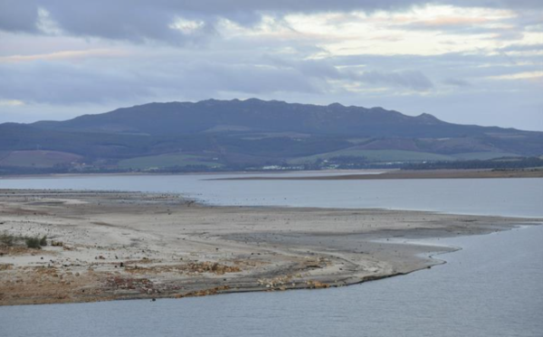 Theewaterskloof dam levels rise past 90% mark