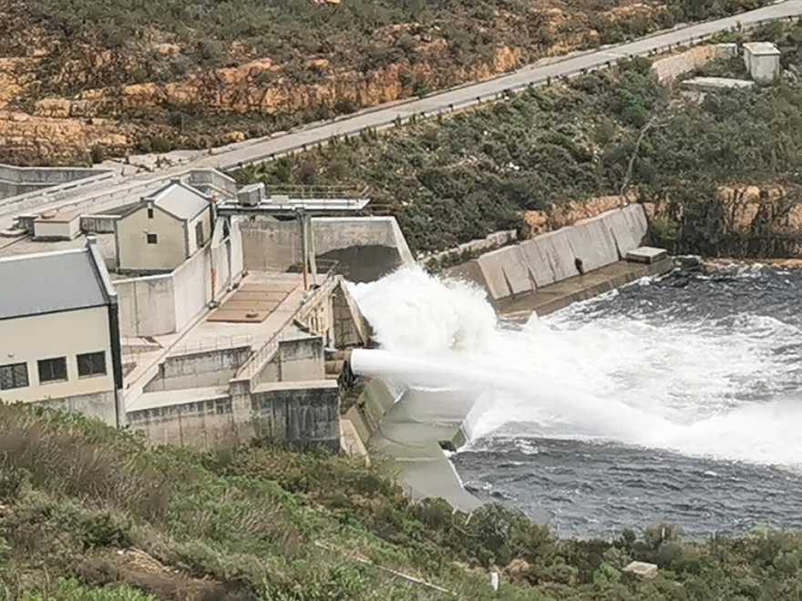 After the drought: Cape Town's gushing water