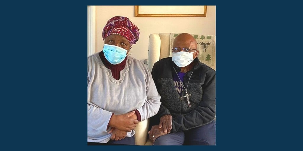 Desmond and Leah Tutu safe after fire in their home