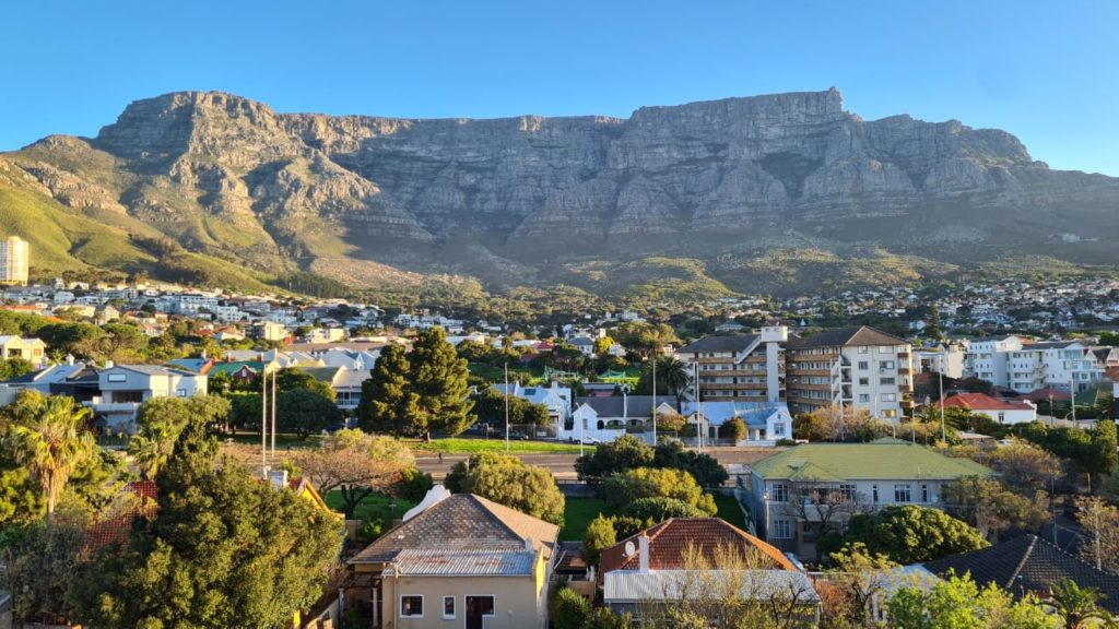 Not quite Spring yet in Cape Town