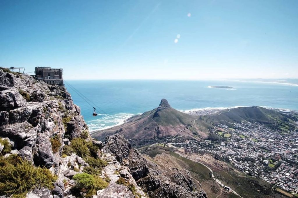 R100 special for Table Mountain Aerial Cableway in October