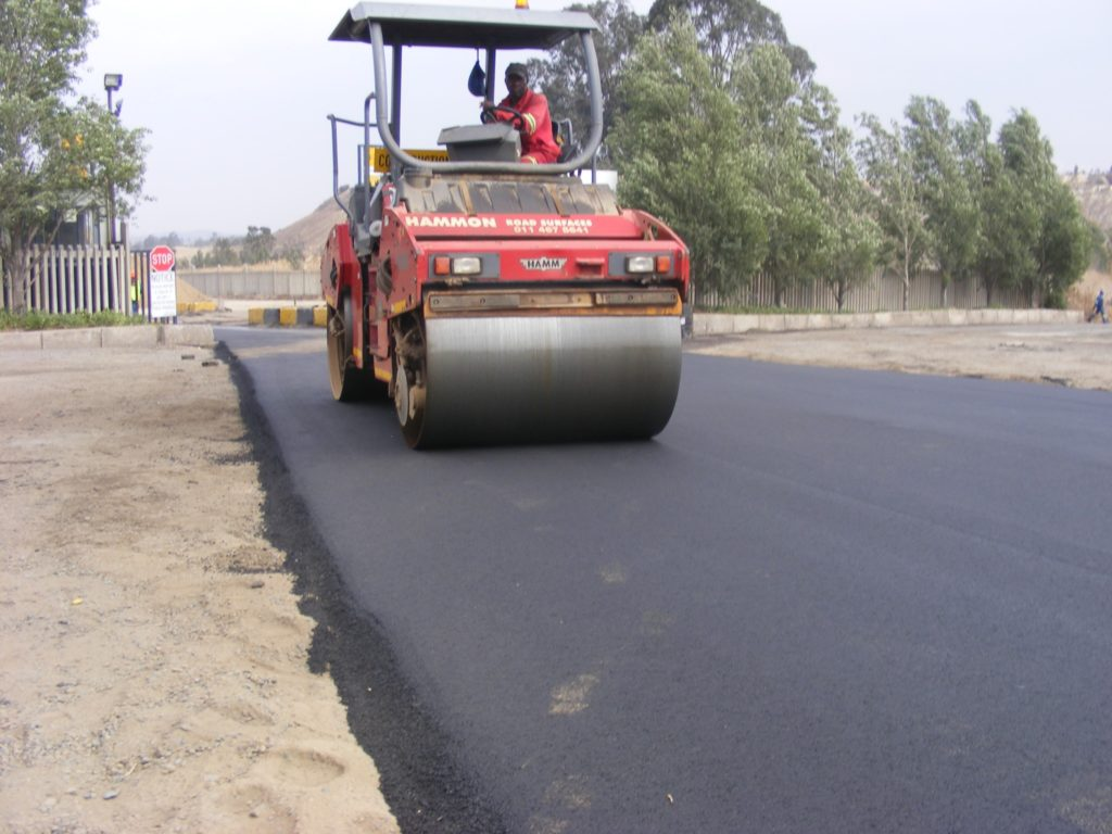 SA's first road made of recycled tyres performs well