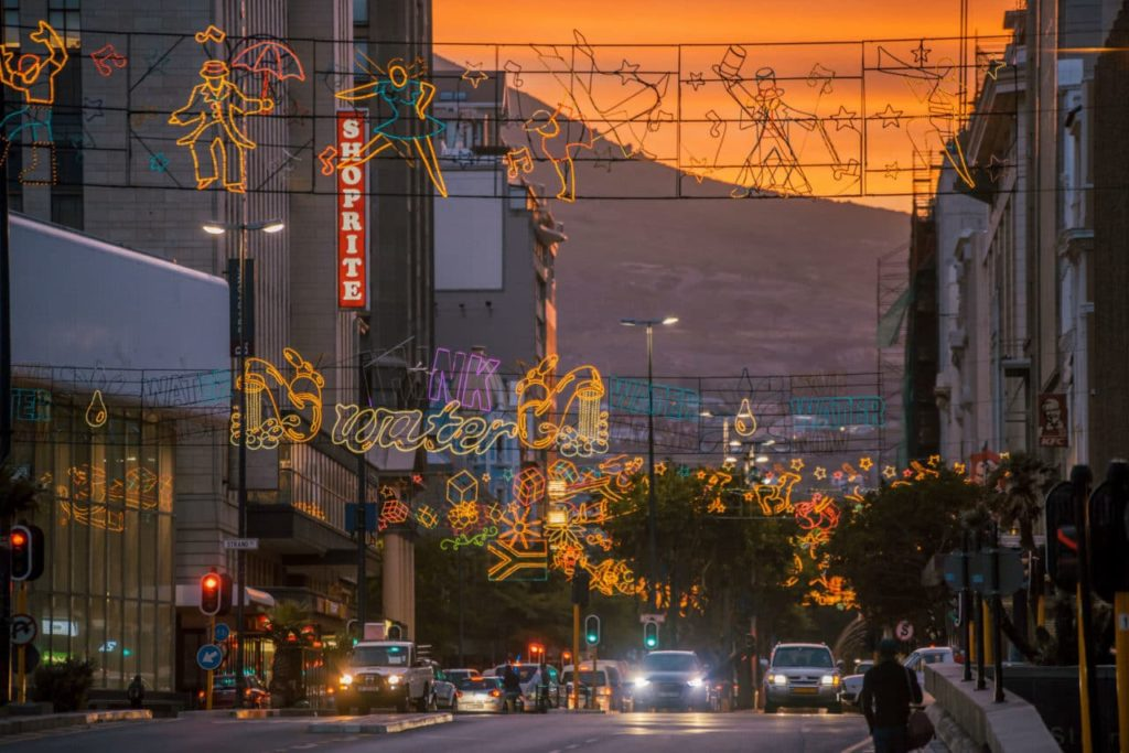 Cape Town festive lights switch-on cancelled