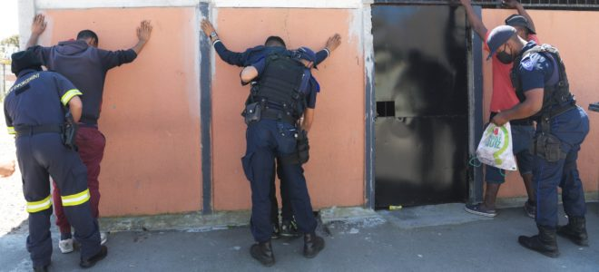 60 officers deployed to Hanover Park for next three years
