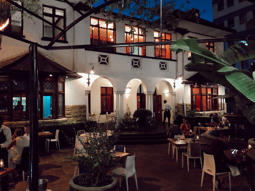 La Mouette, an oasis of great flavours