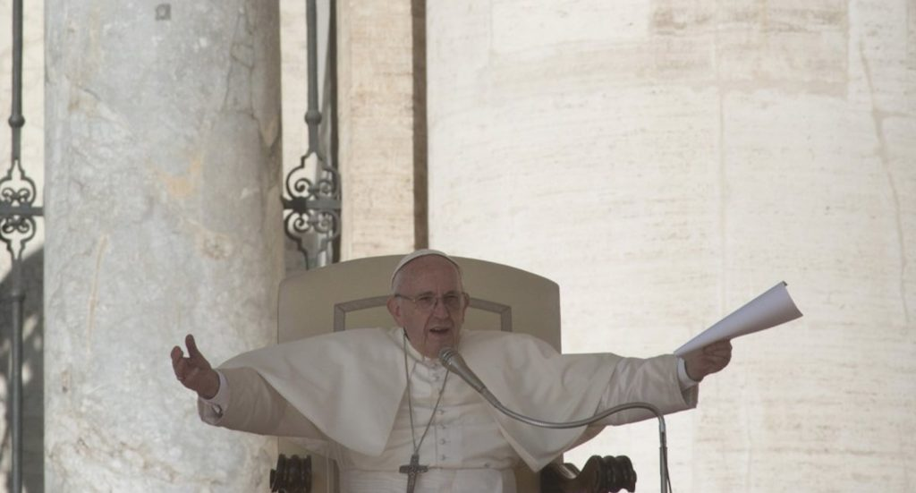 Pope Francis expresses support for same-sex unions