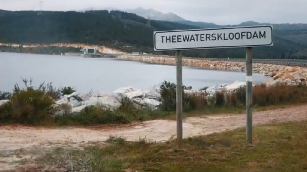 Video: Cape Town's dams over 100% full