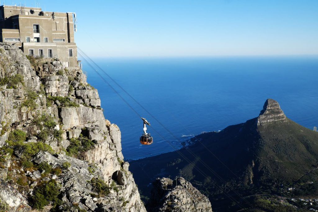 Table Mountain in the running for world's best tourist attraction