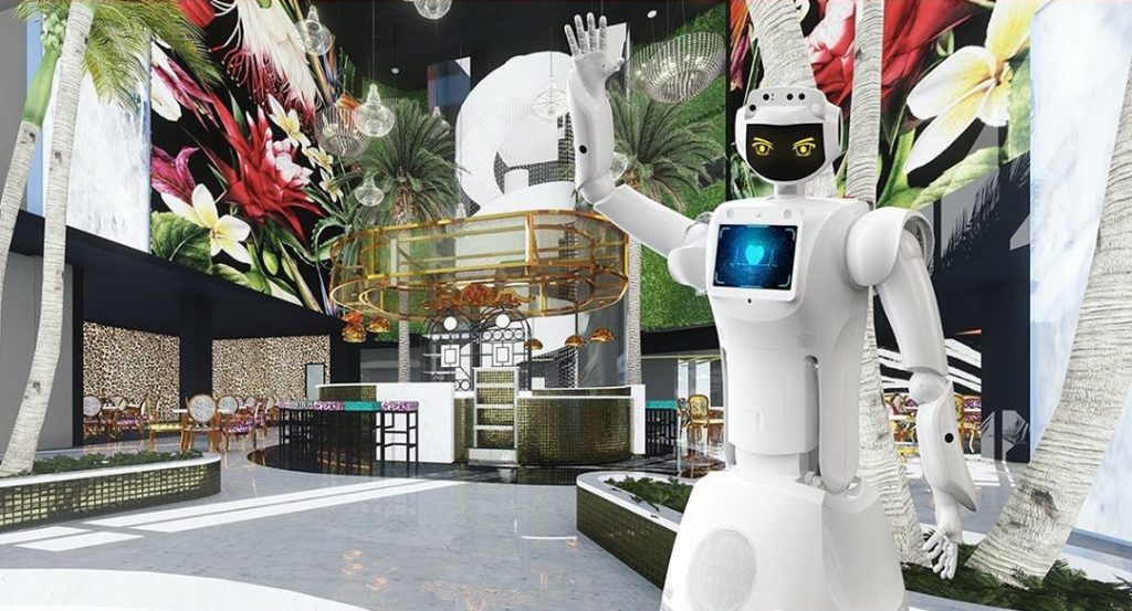 New Cape hotel to have three AI-powered robot assistants
